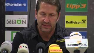 Press conference before Red Bull Salzburg (16th round/Austrian Bundesliga)