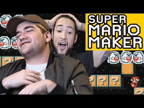 HIGH STRESS LEVELS - 50/50 CHALLENGE SUPER MARIO MAKER
