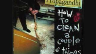 Propagandhi - Stick The Fucking Flag Up Your Ass ,etc...wmv