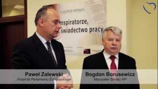 Konspiratorze, odbierz świadectwo pracy - P. Zalewski, B. Borusewicz