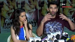 Shraddha Kapoor and Aditya Roy Kapur interview for OK Janu