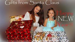 Happy New Year 2016 ! Новый год 2016 ! Подарки от Деда Мороза !(С Новым годом !!! Дед Мороз принес деткам подарки ! Мы отмечаем Новый год по-семейному в Одессе и идем на Дериб..., 2016-01-02T13:42:20.000Z)