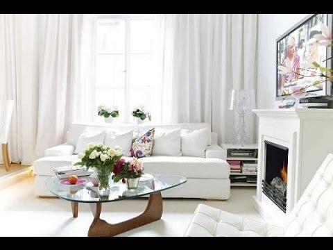 Интерьер комнаты в белом цвете. Необычные идеи