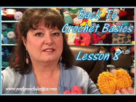 Back To Crochet Basics Lesson 8 - Front and Back Loops