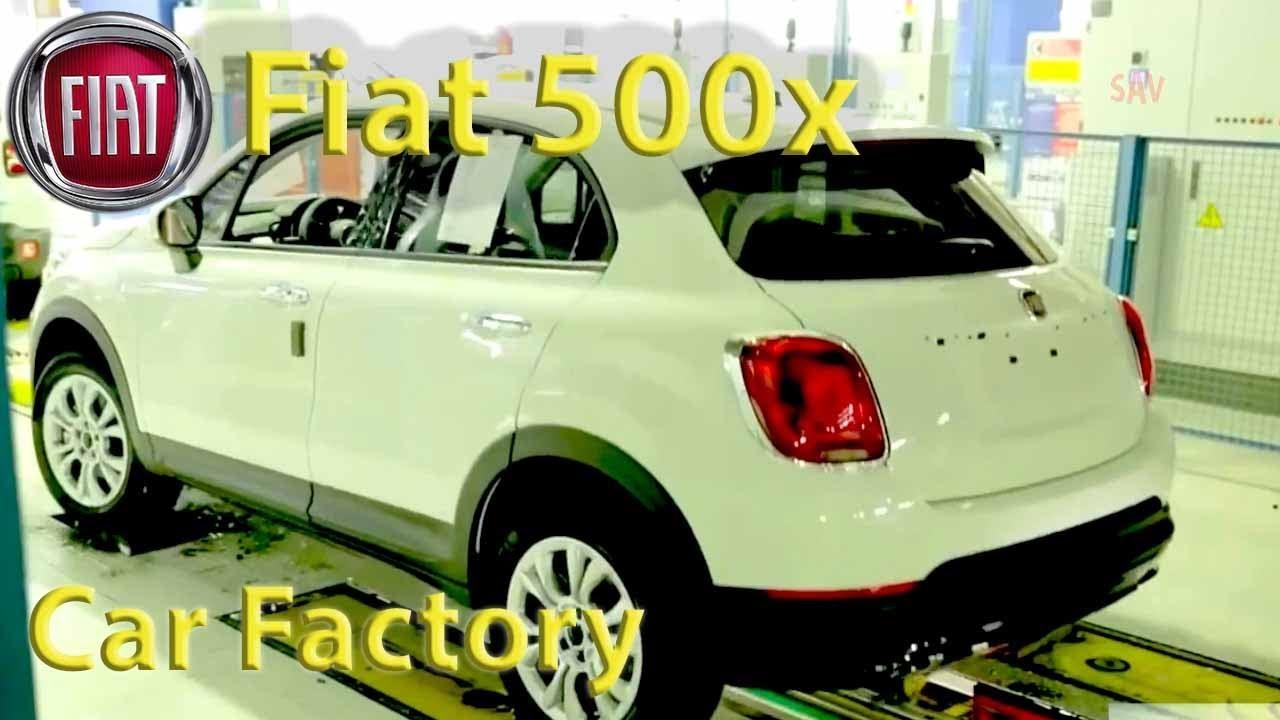 Fiat 500x Production Ita Melfi Italy Car Factory Assembly Jeep Renegade Vs