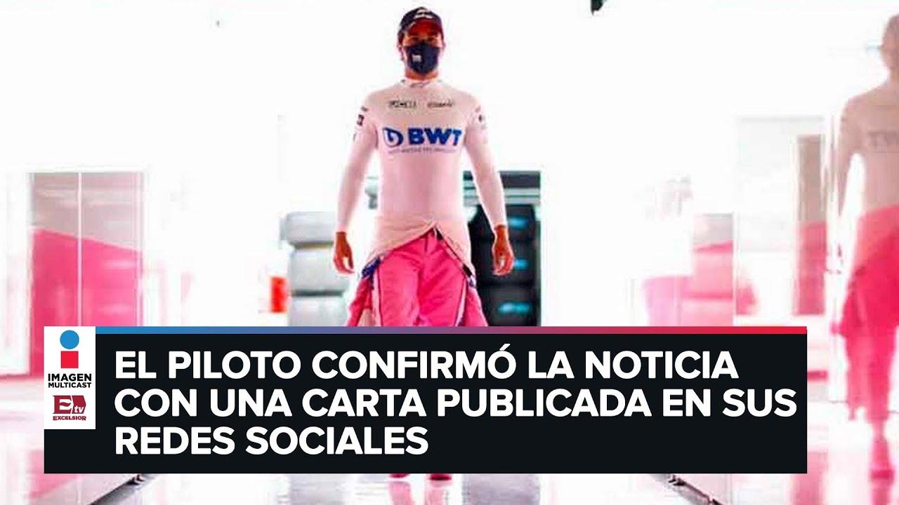 'Checo' Pérez anuncia su salida de Racing Point