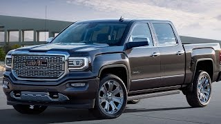 GMC Sierra 1500 HD 2017 Denali All Terrain Towing Capacity Engine - Full Review | AutoHighlights