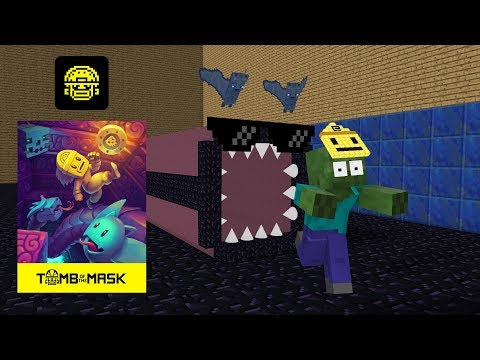 Monster School : Tomb Of The Mask - Minecraft Animation