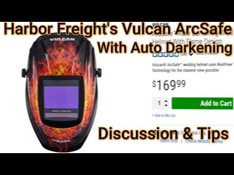 Arcsafe Auto Darkening Welding Helmet