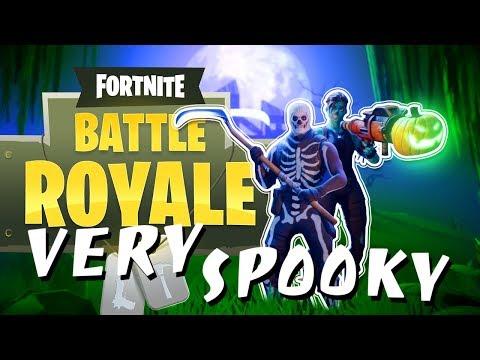 Fortnite BR Halloween - VERY SPOOKY!