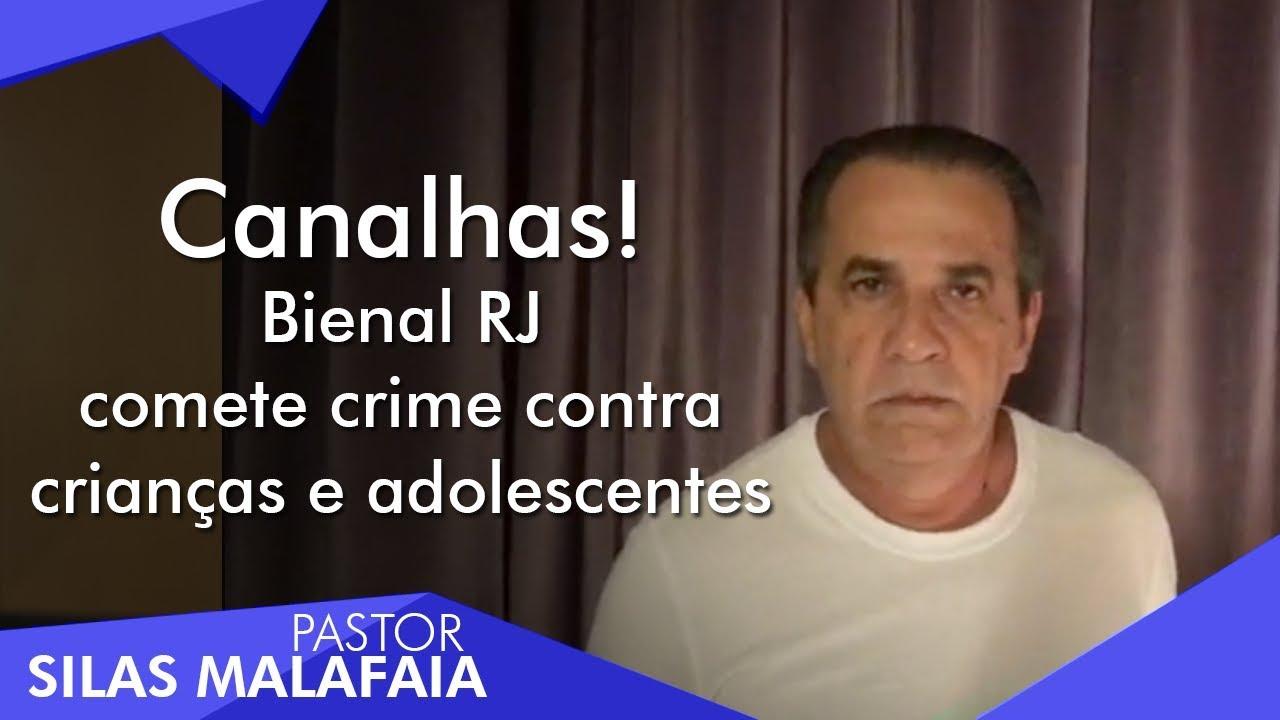 Resultado de imagem para Pastor Silas Malafaia fala sobre a Bienal do Livro no Rio de Janeiro