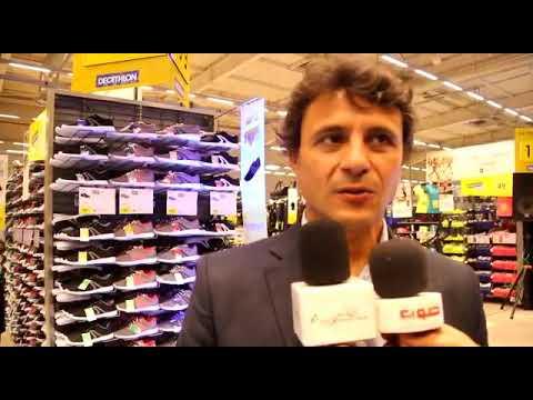 Borja Sanchez PDG du Décathlon Adrar Agadir