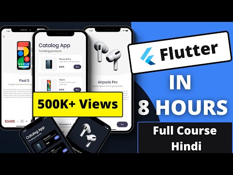 Master Flutter in Just 8 Hours   Full Course Hindi @codepur