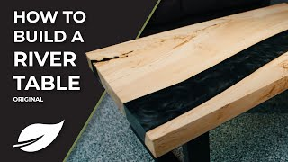 EcoPoxy: How To Build A River Table