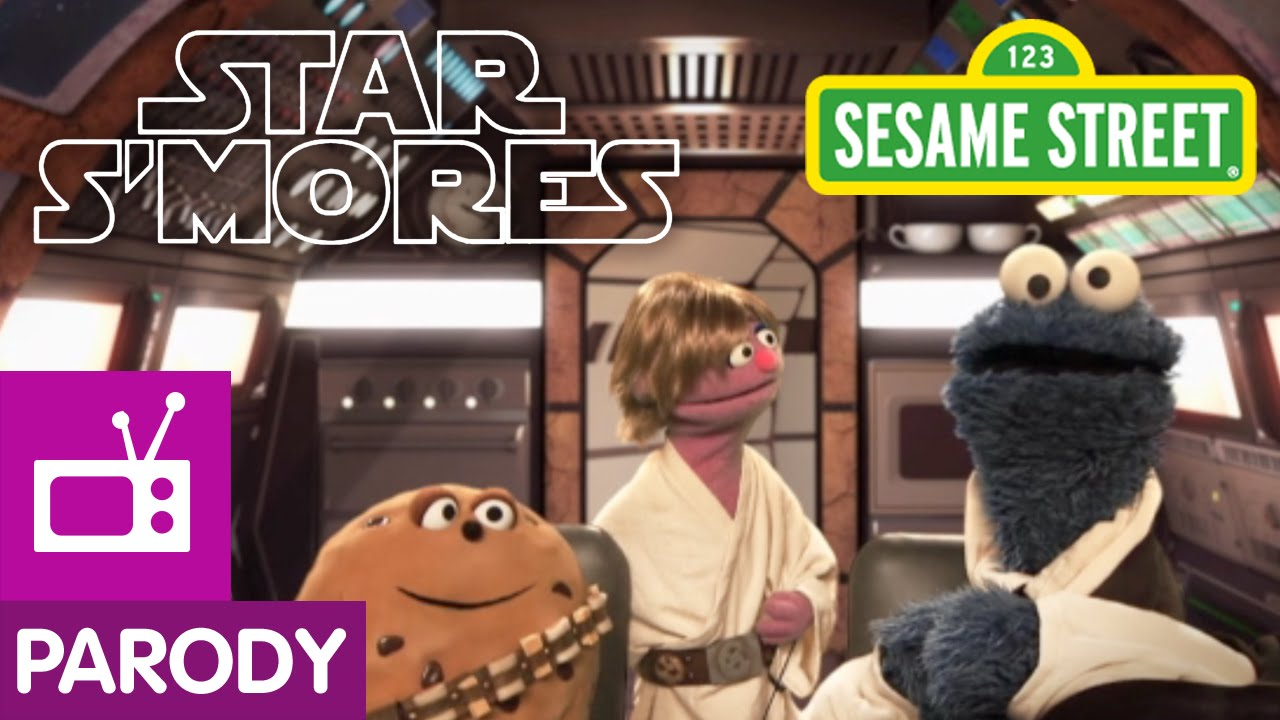 Sesame Street: Star S'Mores (Star Wars Parody)
