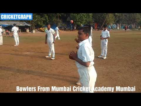 Bowlers from Mumbai Cricket Academy