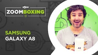 Samsung Galaxy A8 - UNBOXING | ZOOMBOXING