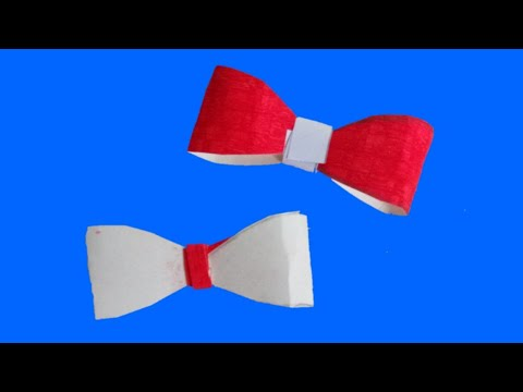 DIY Paper Bow / How To Make Paper Bow