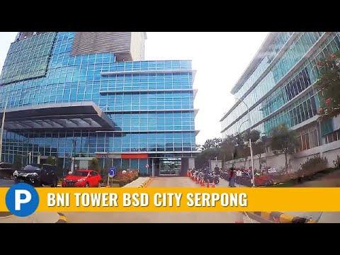 Menara Bank Bni Tower Bsd City Teras Kota Serpong Car Park Youtube