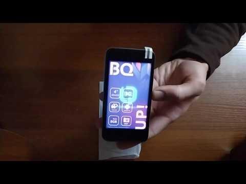 Распаковка смартфона BQ-4028 Up!
