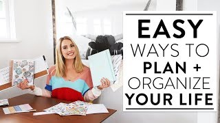How I Plan and Organize My Life to Get Things Done!
