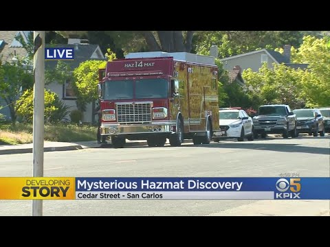 Possible Radioactive Material In San Carlos Home Prompts Hazmat Crew Response