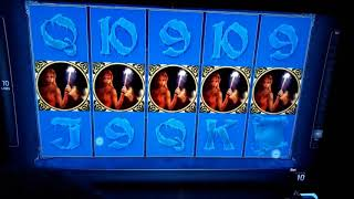 Scatter trigger 15 Feature games Cold Spell video game ( Novomatic Gaminator Slots impera 2018 )