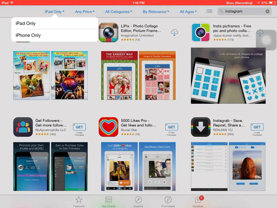 How to download instagram on ipad youtube.