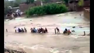 Flood In Pakistan 2015 Flooding in Death - Crazy Footage . ALLAH Sub ko apni hifazat ma rahkye