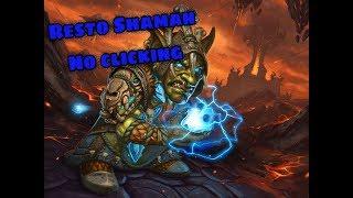 Arena Skirmish Restoration Shaman wow legion 7.3 PVP   no clicking