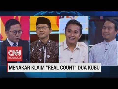 """Menakar Klaim """"Real Count"""" Dua Kubu 01 & 02"""