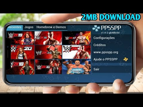 [2MB] HOW TO DOWNLOAD ALL WWE GAME FOR ANDROID | HINDI ME | WWE GAME DOWNLOAD