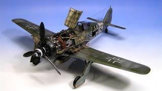Fw-190 Focke-Wulf A-8/R2 Edurad 1:48 Step by Step