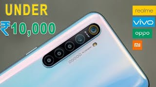 5 BEST SMARTPHONE UNDER ₹10,000 ▶ Feat  NOKIA, REDMI, REALME, OPPO, VIVO
