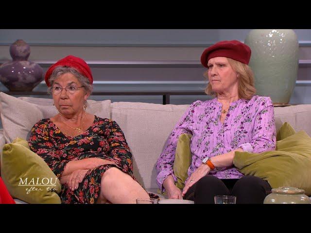 Margit och Inger lever på gränsen till fattigdom - Malou Efter tio (TV4)
