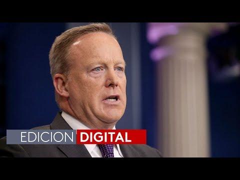 Sean Spicer presenta su renuncia al cargo de secretario de prensa de la Casa Blanca