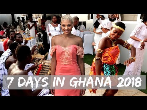 GHANA VLOG 2017 / 2018 | The REAL Africa | Christmas Time | Traditional Ghanaian Wedding