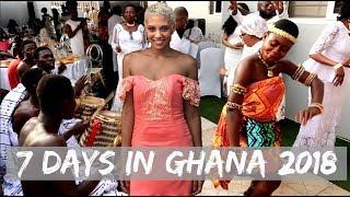GHANA VLOG 2017 / 2018 | The REAL Africa | Christmas Time | Traditional Ghanaian Wedding