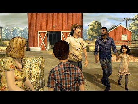 Lee and Clementine Meet Kenny, Katja and Duck (Walking Dead | Shawn Death | Telltale Games)