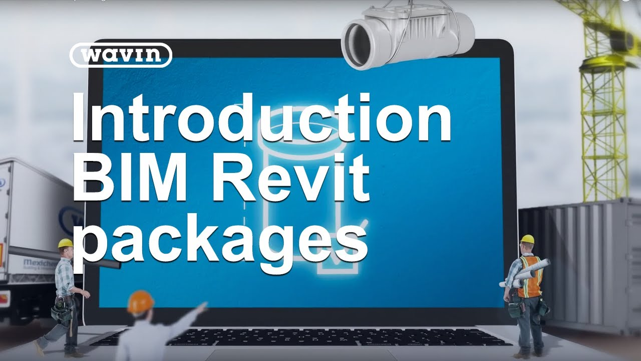 BIM Revit packages for pipes and fitting by Wavin Ireland