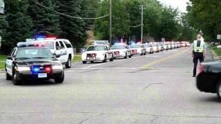 Deputy Dewey funeral pt 1 first half of the car line