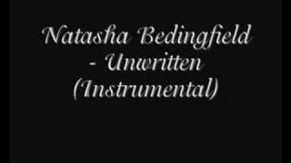 Natasha Bedingfield - Unwritten (Instrumental)