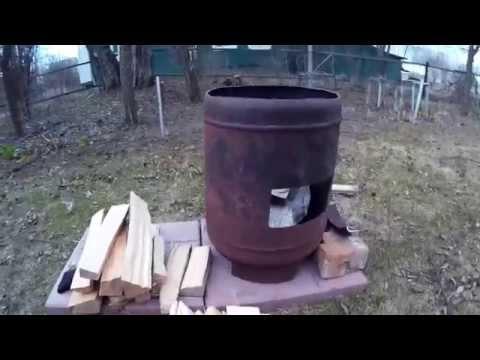 Казан своими руками из газового баллона своими руками 15