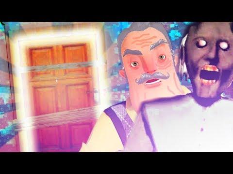 Ending: Hello Neighbors Oma entkommen | Granny mobile Game