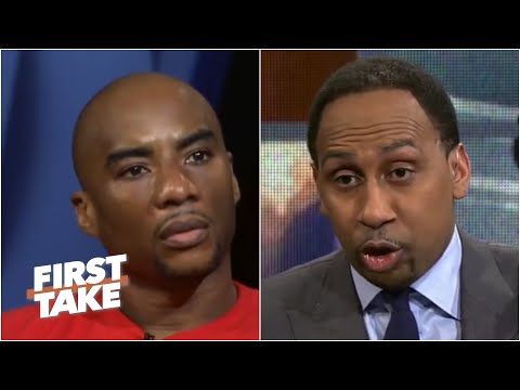 Charlamagne Tha God Confronts Stephen A. Over Colin Kaepernick | First Take | April 24, 2017