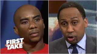 Download Charlamagne Tha God Confronts Stephen A. Over Colin Kaepernick | First Take | April 24, 2017 Mp3 and Videos