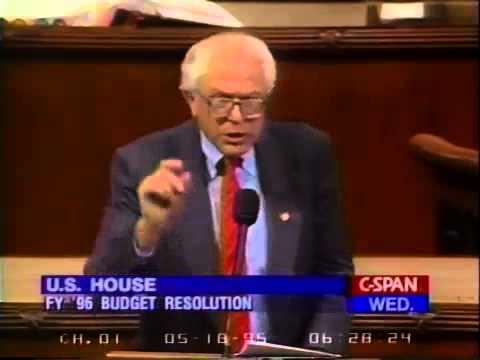 Bernie Sanders: Balanced Budget Amendment Tax Cut Gimmick (5/17/1995)