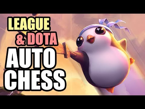 League and Dota Auto Chess