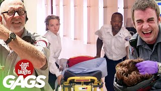 Best of Paramedic Pranks | Just For Laughs Compilation