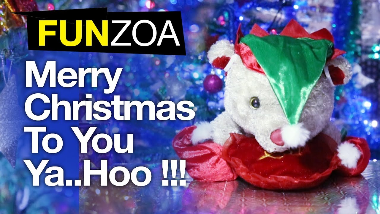 Merry Christmas To You, YaHoo- Funny Christmas Song - YouTube